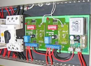 Placa electronica restaurada